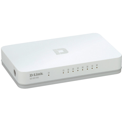 D-Link GO-SW-8G 8-Port Unmanaged Gigabit Switch