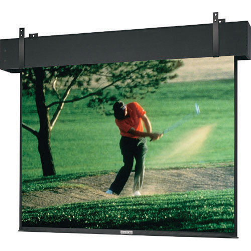 "Da-Lite 33027E Professional Electrol Motorized Projection Screen (120 x 160"", 220V, 50Hz)"
