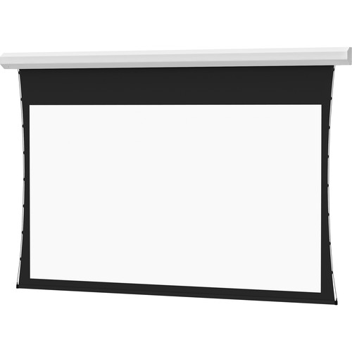 """Da-Lite Tensioned Cosmopolitan Electrol 69 x 110"""" 16:10 Screen with Dual Vision Surface (White Case, 220V)"""
