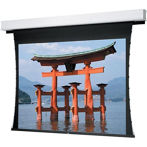 "Da-Lite Advantage Deluxe Tensioned Motorized Front Projection Screen (87x139"")"