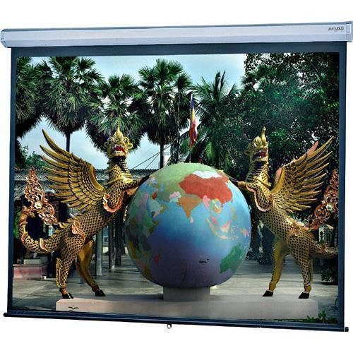 "Da-Lite 34738 Model C Manual Projection Screen with CSR (87 x 139"")"