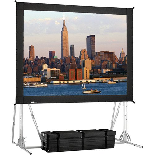 "Da-Lite 35500 Fast-Fold Standard Truss Projection Screen (12'3"" x 21')"