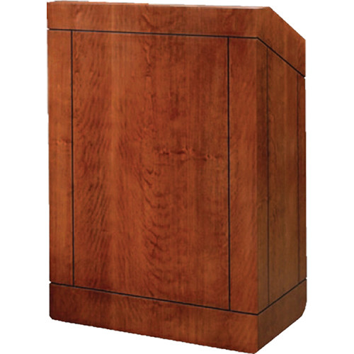 "Da-Lite Providence 25"" Table Lectern with Sound System (Veneer)"