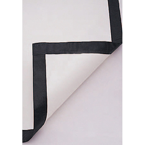 Da-Lite 36435 Lace and Grommet Fabric (DA-Mat HC Black Backed, Sold Per Sq. Ft.)