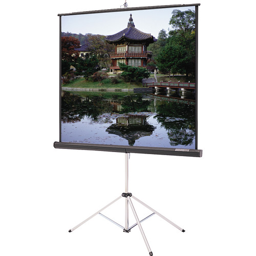 "Da-Lite 36475 Picture King Tripod Front Projection Screen (50x50"")"