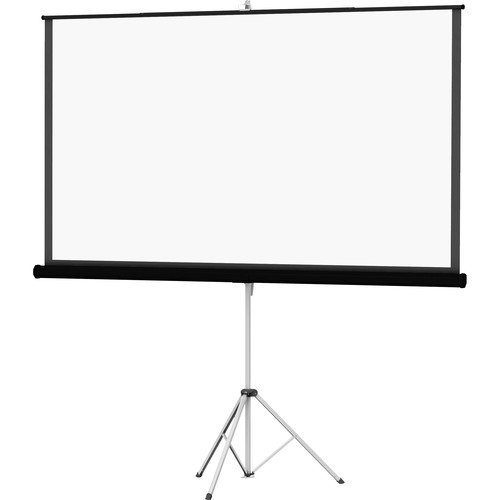 "Da-Lite 36476 Picture King Tripod Front Projection Screen (60x60"")"