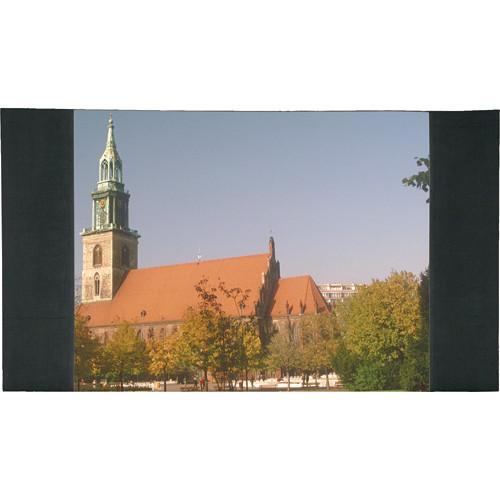 """Da-Lite Ultra Velour Masking Panel for Fast-Fold Frames (62 x 108"""", One Pair, Black)"""