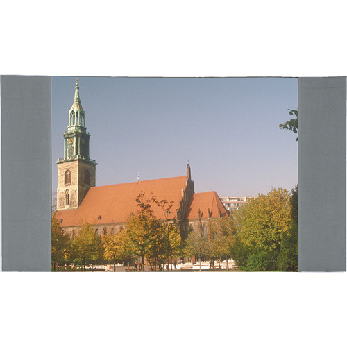 "Da-Lite 36671GR Fast-Fold Masking Panels (12'3"" x 21', Gray)"