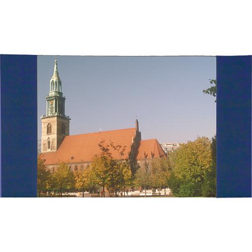 "Da-Lite 36675BU Fast-Fold Masking Panels (16 x 27'6"", Blue)"