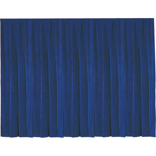 Da-Lite 36797 Drapery Panel (12 x 13', Blue)