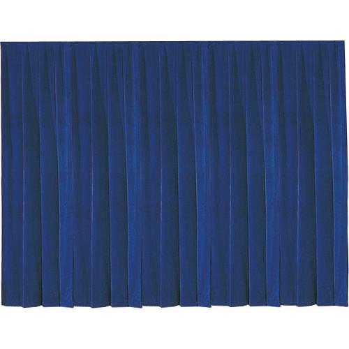 Da-Lite 36798 Drapery Panel (16 x 13', Blue)