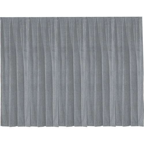 Da-Lite 36799 Drapery Panel (4 x 13', Pewter Gray)