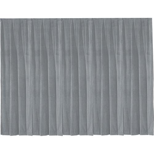 Da-Lite 36800 Drapery Panel (12 x 13', Pewter Gray)