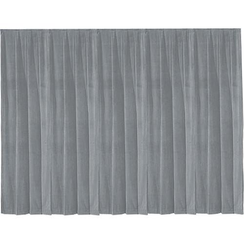 Da-Lite 36801 Drapery Panel (16 x 13', Pewter Gray)