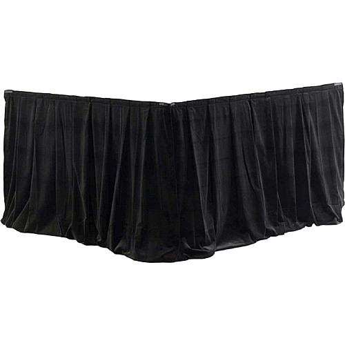 Da-Lite 36956 Fast-Fold Drapery Surround (Black, 2 Drapes)