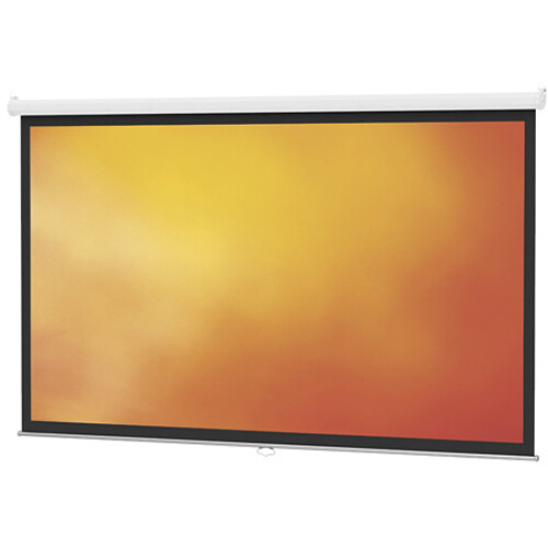 "Da-Lite 40197 Model B Manual Projection Screen (84 x 84"")"