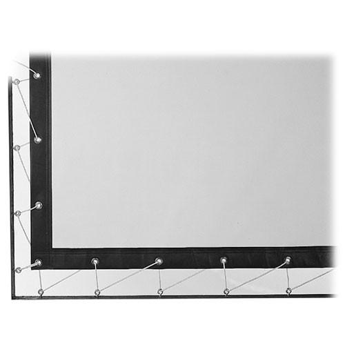 Da-Lite Lace & Grommet Surface Screen - Per Square Foot - DA-Tex