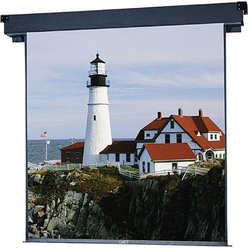 """Da-Lite 40728ES Boardroom Electrol Motorized Projection Screen (84 x 84"""")"""