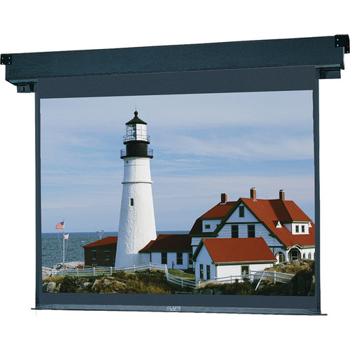 "Da-Lite 40728 Boardroom Electrol Motorized Projection Screen (84 x 84"")"