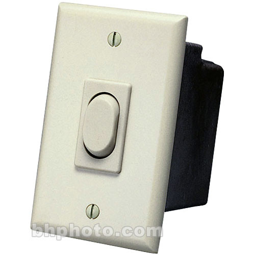 Da-Lite Replacement Wall Switch 110 - Volt (Ivory)