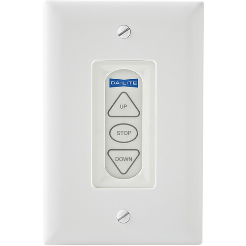 Da-Lite Extra Three Button Low Voltage Control Switch