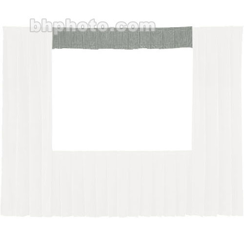 Da-Lite Fast-Fold� Standard and Deluxe Valance (Gray) 41116G