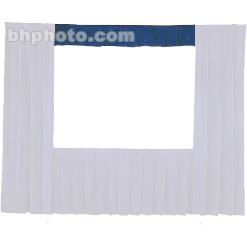 Da-Lite Fast-Fold® Standard and Deluxe Valance (Blue) 41119BL