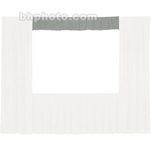 Da-Lite Fast-Fold� Standard and Deluxe Valance (Gray) 41119G