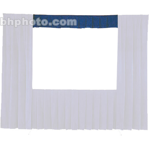Da-Lite Fast-Fold� Standard and Deluxe Valance (Blue) 41128BL