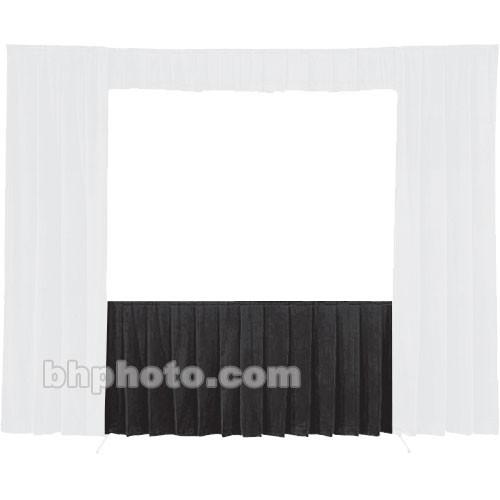 Da-Lite Fast-Fold Standard and Deluxe Skirt Black 41143B