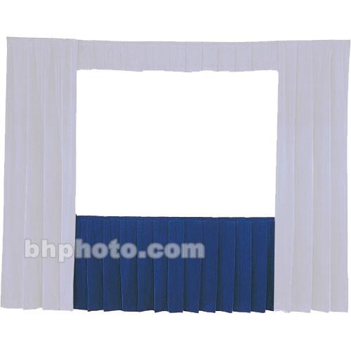 Da-Lite Fast-Fold Standard and Deluxe Skirt Blue 41145BL