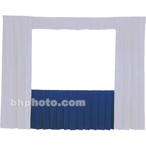 Da-Lite Fast-Fold Standard and Deluxe Skirt Blue 41150BL
