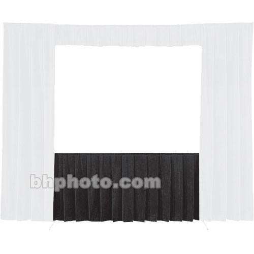 Da-Lite Fast-Fold Standard and Deluxe Skirt Black 41150B