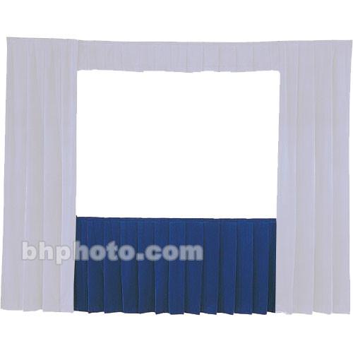 Da-Lite Fast-Fold Standard and Deluxe Skirt Blue 41151BL