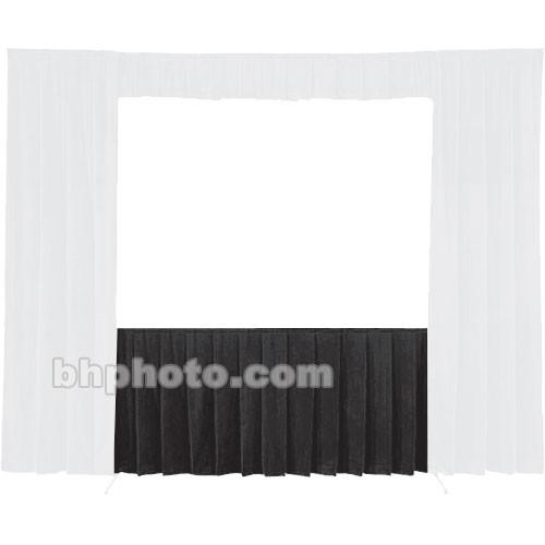 Da-Lite Fast-Fold Standard and Deluxe Skirt Black 41151B