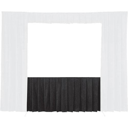 Da-Lite Skirt for the Fast-Fold Truss 16 x 21' Projection Screen (Black)