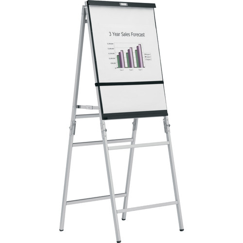 Da-Lite Heavy Duty Folding - Black/Silver Anodized A-Frame Easel 43153