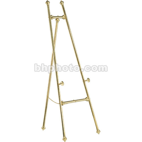 Da-Lite Swirled Brass Display Easels 43168