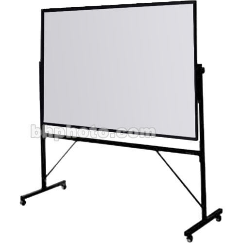 Da-Lite 4-ft. x 6-ft. Whiteboard/Loop Fabric Covered Cork 43183
