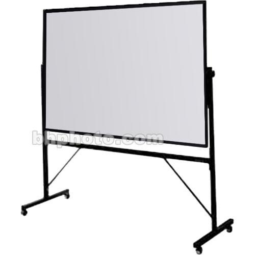Da-Lite 4-ft. x 6-ft. Whiteboard/Loop Fabric Covered Cork 43183