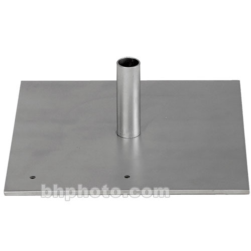 Da-Lite Flat Steel Base with Mounting Stud - 2 Required  69607