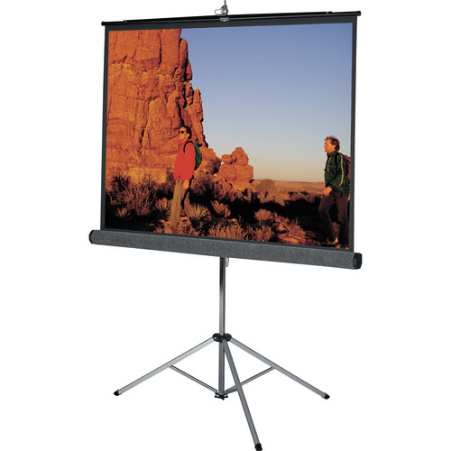 "Da-Lite 69895 Picture King Tripod Front Projection Screen (60x60"")"