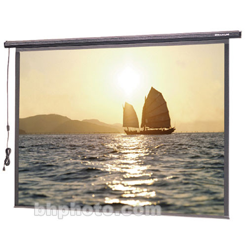 "Da-Lite 72600 Slimline Electrol Motorized Projection Screen (60 x 60"")"