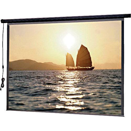 "Da-Lite 72606E Slimline Electrol Motorized Projection Screen (60 x 80"", 220V, 50Hz)"