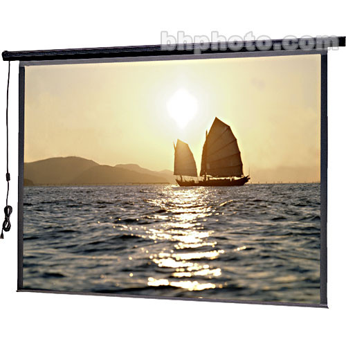 "Da-Lite 72606 Slimline Electrol Motorized Projection Screen (60 x 80"", 120V, 60Hz)"