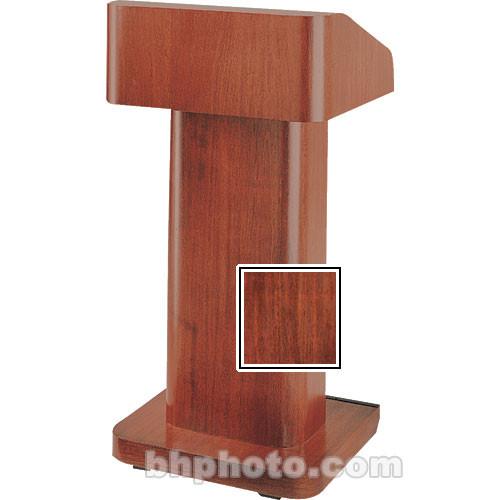 Da-Lite 25-in. Contemporary Pedestal Lectern - Mahogany