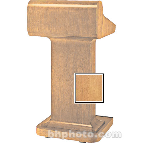 Da-Lite Traditional Pedistal Lectern - Veneer Light Oak