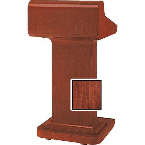Da-Lite Traditional Pedestal Lectern - Mahogany