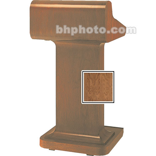 Da-Lite Traditional Pedistal Lectern - Natural Walnut