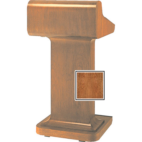 Da-Lite Traditional Pedistal Lectern with Sound - Cherry